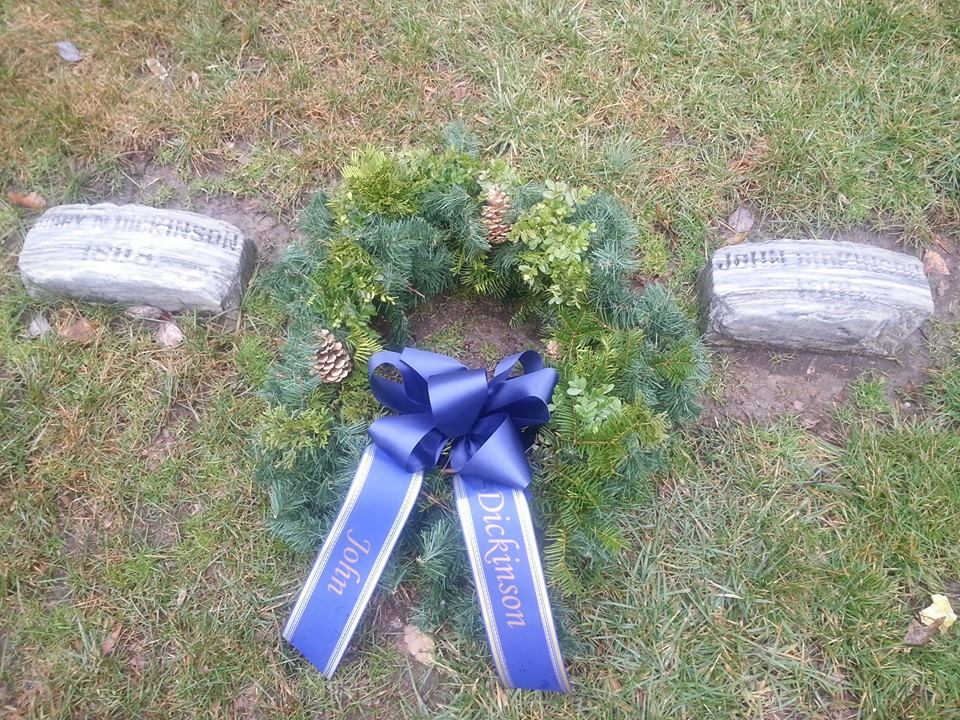 Dickinson Wreath
